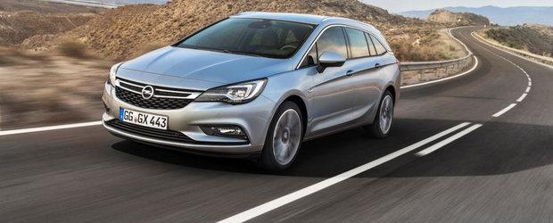 Salonul de la Frankfurt 2015: Opel Astra ST ni se arata in primele imagini oficiale