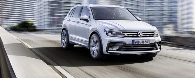 Salonul de la Frankfurt 2015: VW Tiguan debuteaza intr-o noua generatie