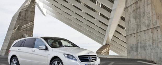 Salvati balenele: Facelift pentru Mercedes R-Class