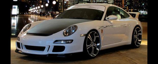 Salvati supercarurile: Jantele Barracuda Tzunamee pun stapanire pe Porsche 911 GT3!