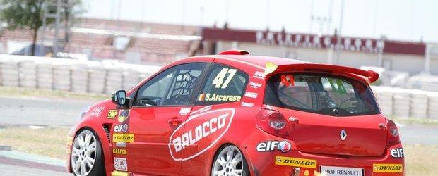 Salvatore Arcarese, pregatit pentru Euro-Cupa Renault Clio