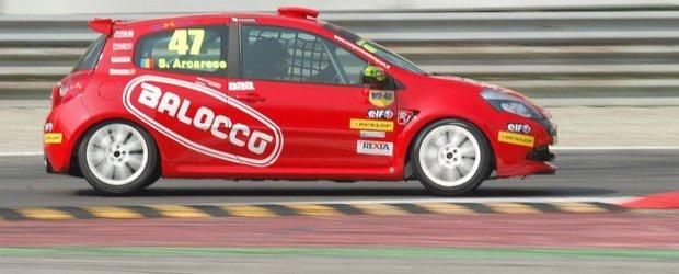 Salvatore Arcarese, start In EuroCupa Renault Clio