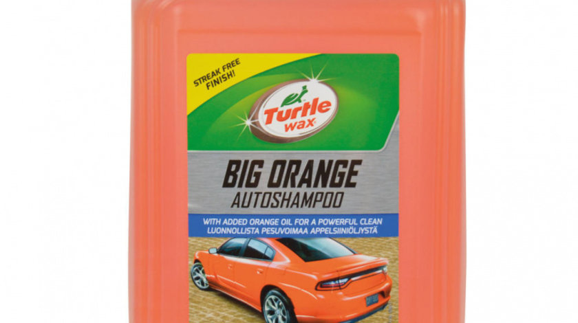 Sampon auto Turtle Wax Big Orange 5L Shampoo