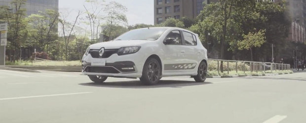 Sandero RS iese la joaca intr-un nou material video