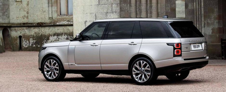 Saracii bogati au primit un Range Rover cu motor de doi litri si consum de 2,8 la suta