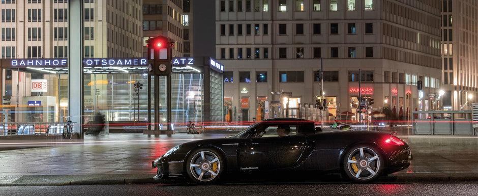 Sarbatoare la Porsche: in urma cu fix 20 de ani, nemtii defilau cu Carrera GT pe strazile Parisului