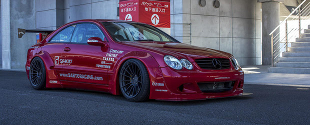 Sarto Racing CLK W209: Civilul german inrolat in armata japoneza