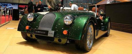Sasiu din lemn si aluminiu, aspect retro si motor de SUPRA. Acesta este noul Morgan Plus Six