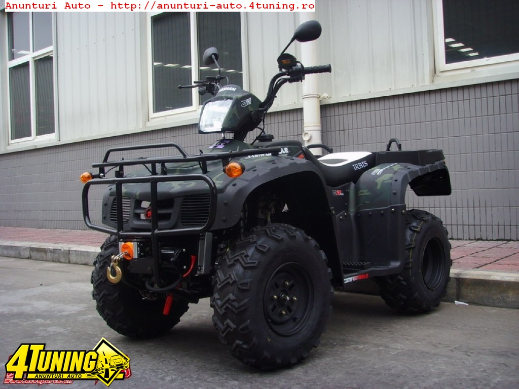 SC bemi comercializeaza ATV NOI 250cc OHV utilitar CARDAN