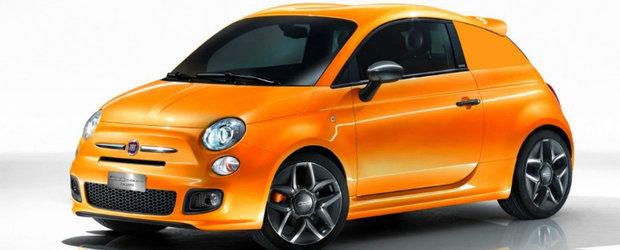 Scagliarini 504cze - Un Fiat 500 cu aroma de van