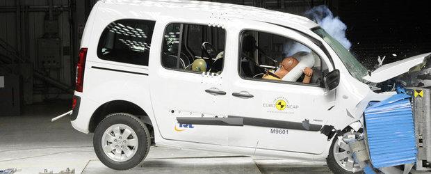 Scandal in Germania din cauza celor trei stele EuroNCAP primite de Mercedes Citan