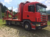 Scania R144 Transport Forestier