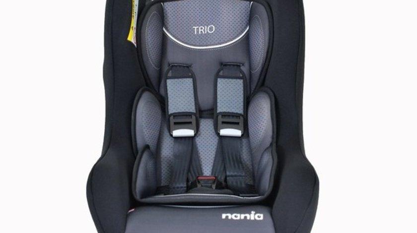 SCAUN AUTO NANIA TRIO COMFORT 0-1-2 (0-25 KG). NEGRU NANIA 190076 <br>