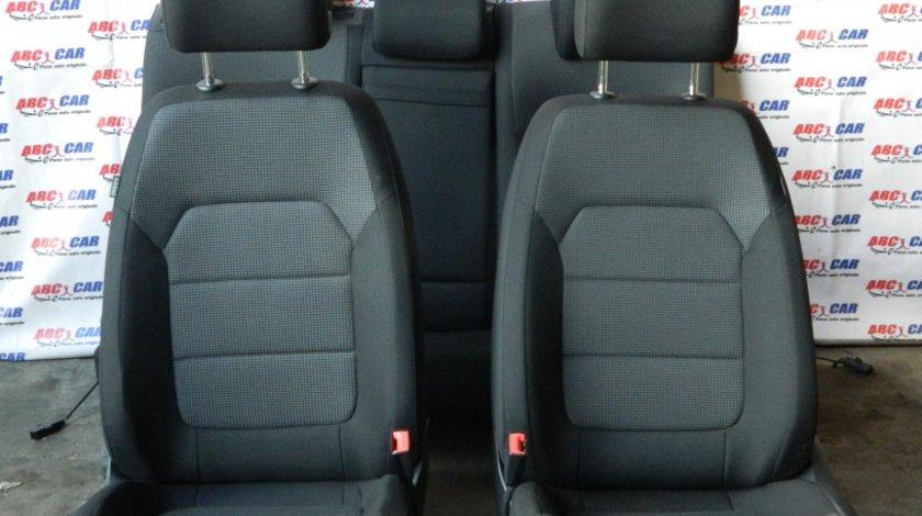 Scaune fata + bancheta spate din material VW Passat B7 limuzina