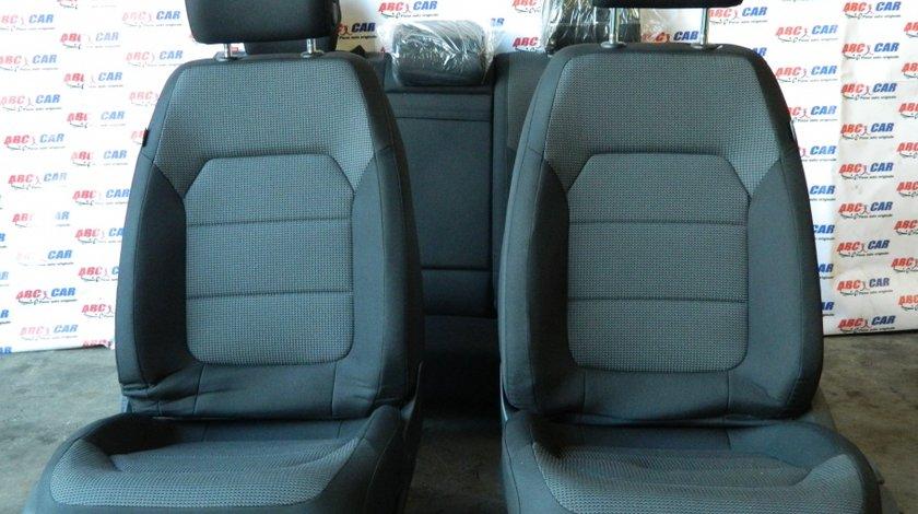 Scaune fata + bancheta spate din material VW Passat B7 variant