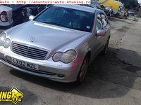 Scaune Mercedes C 220 W203 an 2002 dezmembrari Mercedes C 220 an 2002
