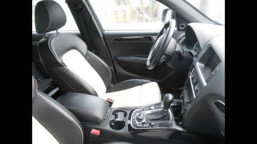 Scaune piele Audi q5 8r Interior Sport Originale S Line EXCLUSIV