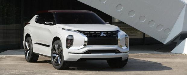 Schimbarea la fata. Viitoarele modele Mitsubishi vor semana izbitor cu conceptul GT-PHEV