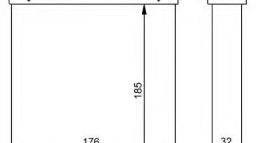 Schimbator caldura, incalzire habitaclu VW PASSAT CC (357) (2008 - 2012) NRF 54271 piesa NOUA