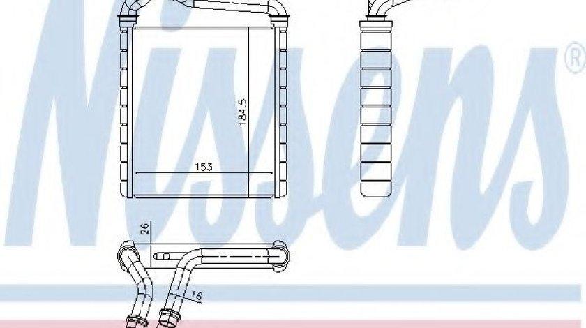 Schimbator caldura, incalzire habitaclu VW PASSAT CC (357) (2008 - 2012) NISSENS 73979 piesa NOUA