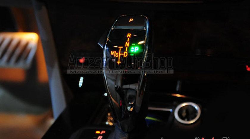 Schimbator Joystick LED BMW E60 E61 Ceramic Sport