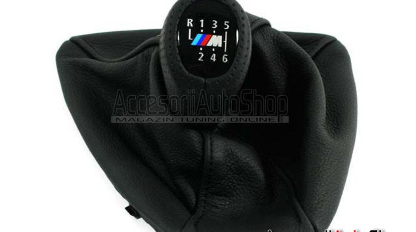 Schimbator M Piele BMW Seria 3 E90 E92 E93 ORIGINAL