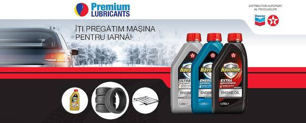 Schimbi uleiul in prag de iarna si poti castiga un set de anvelope!