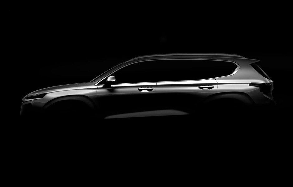 Schita oficiala Hyundai Santa Fe