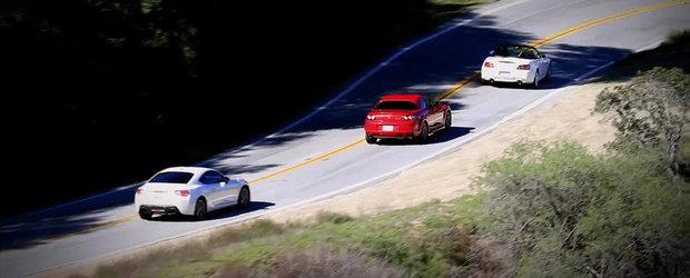 Scion FR-S versus Honda S2000 versus Mazda RX-8
