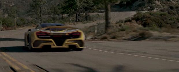 Scopul lor a fost sa construiasca cea mai rapida masina din lume. Ce spun primele estimari