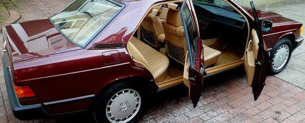 Scos din capsula timpului si pus la vanzare pe internet: Mercedes-ul din 1986 niciodata inmatriculat