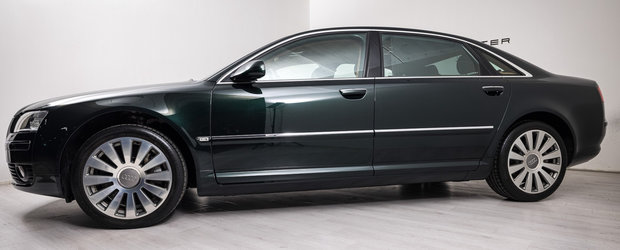Scos din capsula timpului si pus la vanzare pe internet: Audi-ul D3 cu motor W12 si kilometri putini
