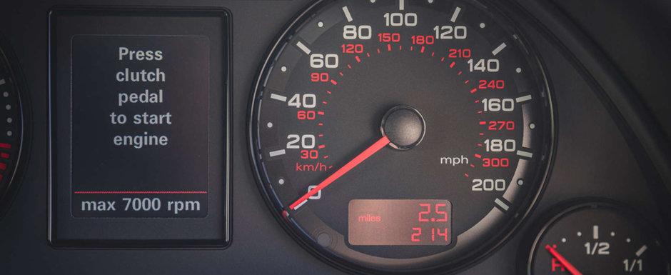 Scos din capsula timpului si pus la vanzare pe internet: Audi-ul RS4 B7 cu 349 de kilometri la bord