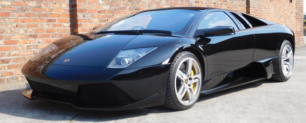 Scos din capsula timpului si pus la vanzare pe internet: Lamborghini-ul Murcielago LP640 cu 317 kilometri la bord
