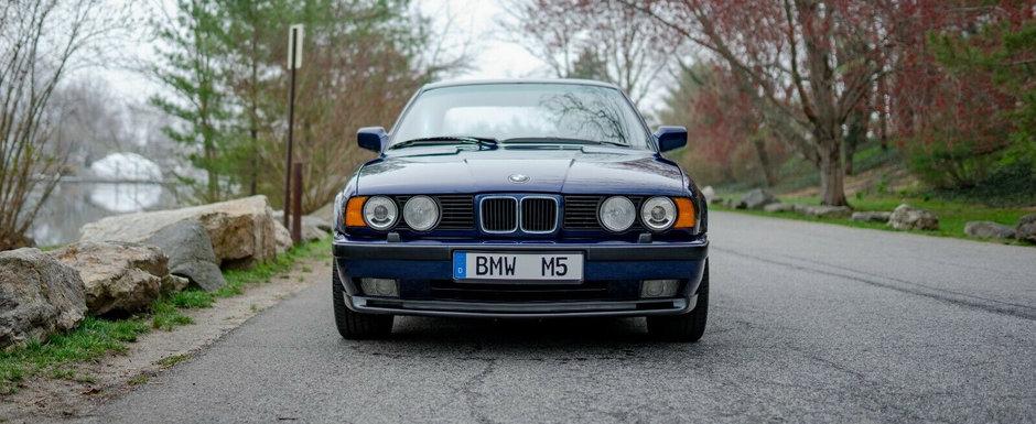 Scos din capsula timpului si pus la vanzare pe internet: BMW-ul din '91 cu 10.031 kilometri la bord