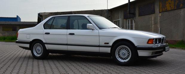 Scos din capsula timpului si pus la vanzare pe internet: BMW-ul Seria 7 cu 482 de mile la bord