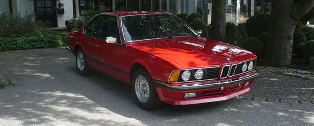 Scos din capsula timpului si pus la vanzare pe internet: BMW-ul Seria 6 CSi cu 428 de kilometri la bord