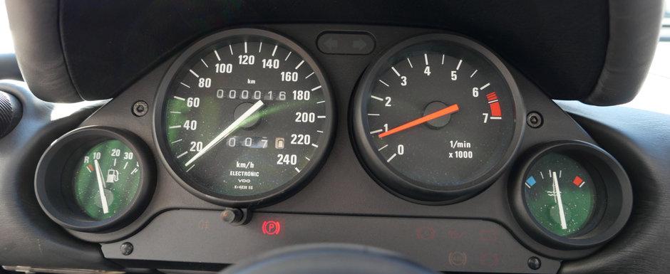 Scos din capsula timpului si pus la vanzare pe internet: BMW-ul din '91 cu doar 16 kilometri la bord