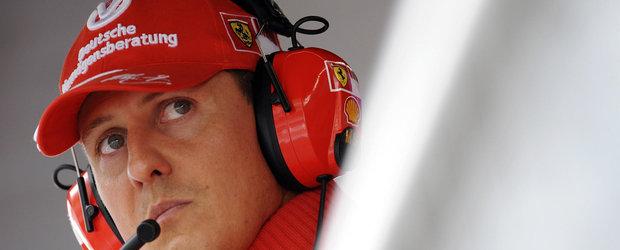 Scuderia Ferrari ii aduce un omagiu lui Michael Schumacher