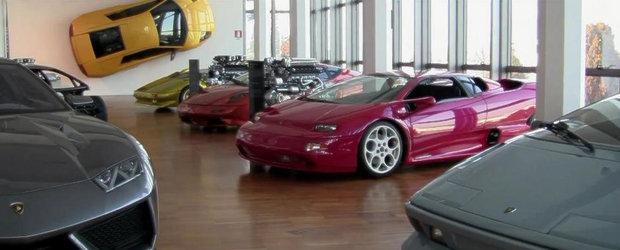 Scurta incursiune in paradisul Lamborghini