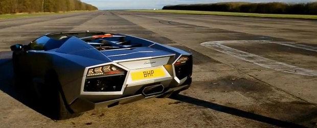 Scurta plimbare la bordul unui Lamborghini Reventon Roadster