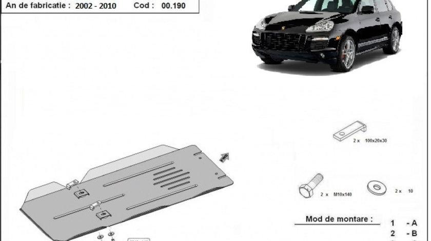 Scut metalic cutie de viteze Manuala Porsche Cayenne 2002-2010
