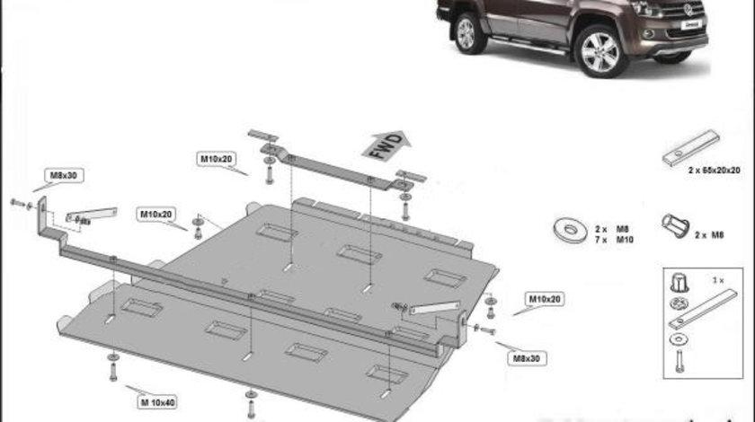 Scut metalic cutie de viteze VW Amarok 2016-prezent