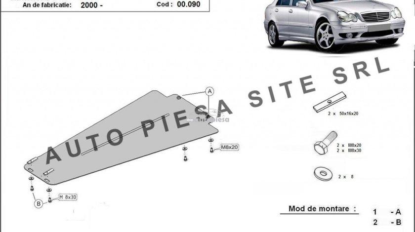 Scut metalic cutie viteze Mercedes C-Class W203 fabricat incepand cu 2000 APS-00,090 produs NOU