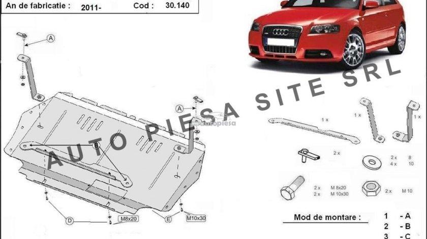 Scut metalic motor Audi A3 8P1 1.2 / 1.4 / 1.6 tdi fabricat incepand cu 2008 (cutie manuala) APS-30,140 produs NOU