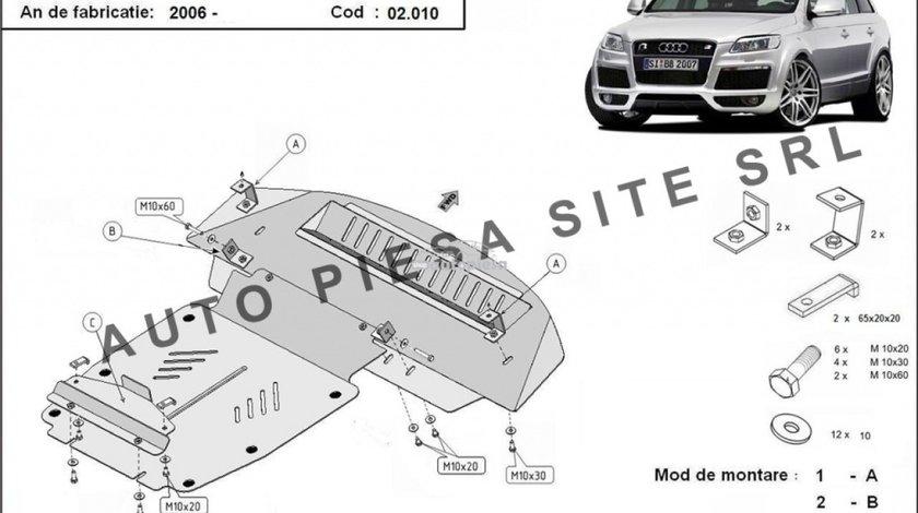 Scut metalic motor Audi Q7 fabricat incepand cu 2006 APS-02,010 produs NOU