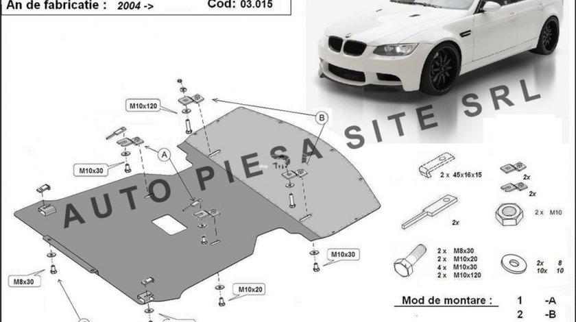 Scut metalic motor BMW Seria 3 E90 / E91 fabricat in perioada 2004 - 2011 APS-03,015 produs NOU