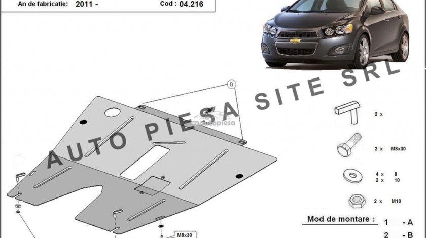 Scut metalic motor Chevrolet Aveo fabricat incepand cu 2011 APS-04,216 produs NOU