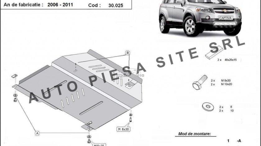 Scut metalic motor Chevrolet Captiva fabricat in perioada 2006 - 2010 APS-30,025 piesa NOUA