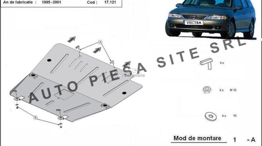 Scut metalic motor Opel Vectra B fabricat in perioada 1995 - 2001 APS-17,121 piesa NOUA